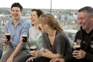 Guinness Storehouse in Dublin City