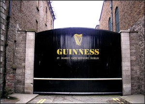 Gates at Guinness Brewery